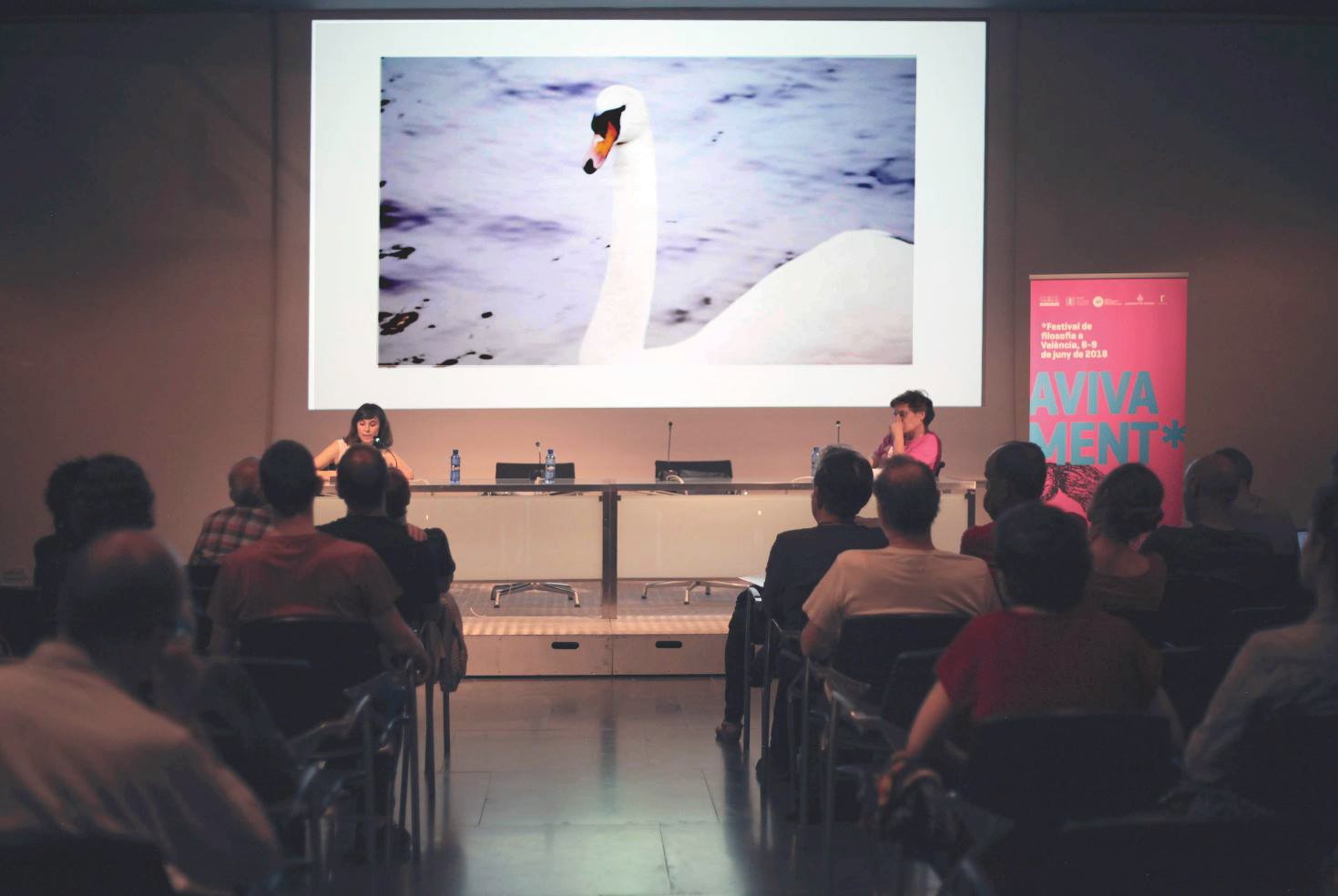 FINGER AND SWAN. Avivament Festival de Filosofia a València. 2018