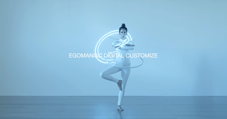 EGOMANIAC DIGITAL CUSTOMIZE. Marta Negre. 2020